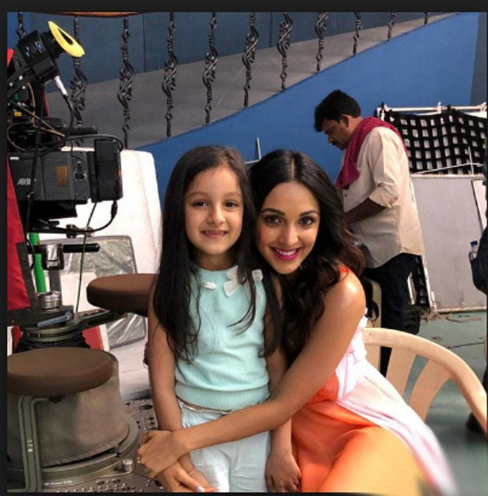 Mahesh Babu Daughter Sitara and Kaira Advani