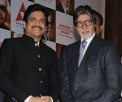 Nagarjuna and Amitabh Bachchan