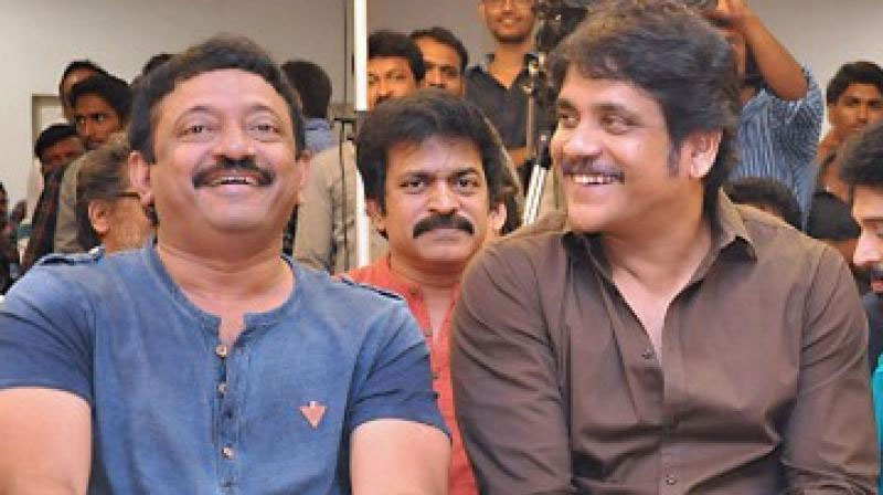 Nagarjuna and RGV Tweets on Officer