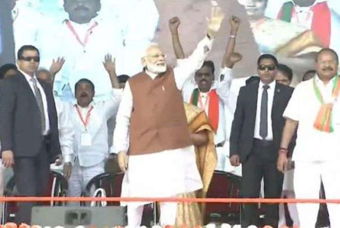 Narendra Modi on Chandrababu's Seniority