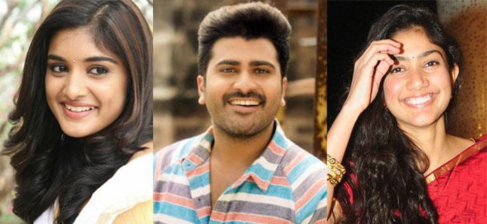 Nivedha Thomas, Sharwanand and Sai Pallavi