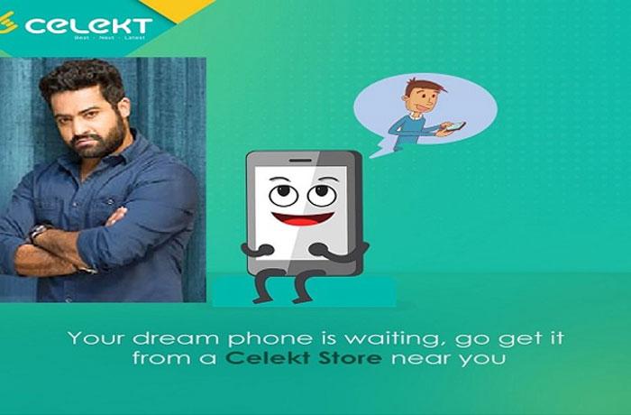 NTR Brand Ambassador for Celekt
