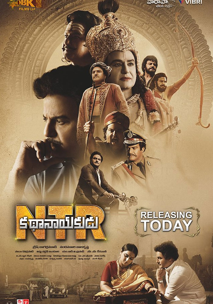 NTR Kathanayakudu Off to a Decent Start