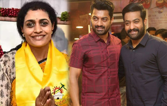 NTR to campaign for Sister Suhasini