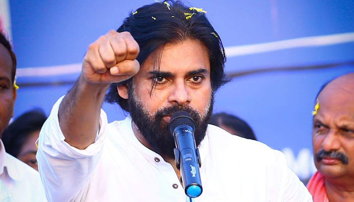 Pawan Kalyan says AP Government Spying On Him