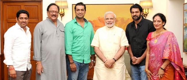 PM Modi pats Krishnam Raju