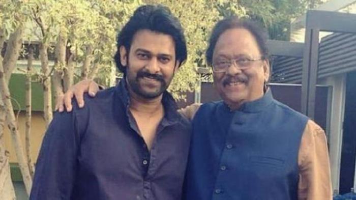 Prabhas And Krishnam Raju