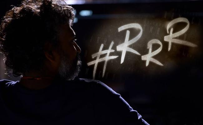 Rajamouli to share RRR updates