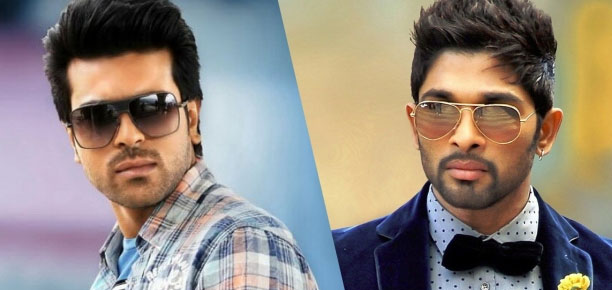 Ram Charan and Allu Arjun's Interesting Record on Film Titles