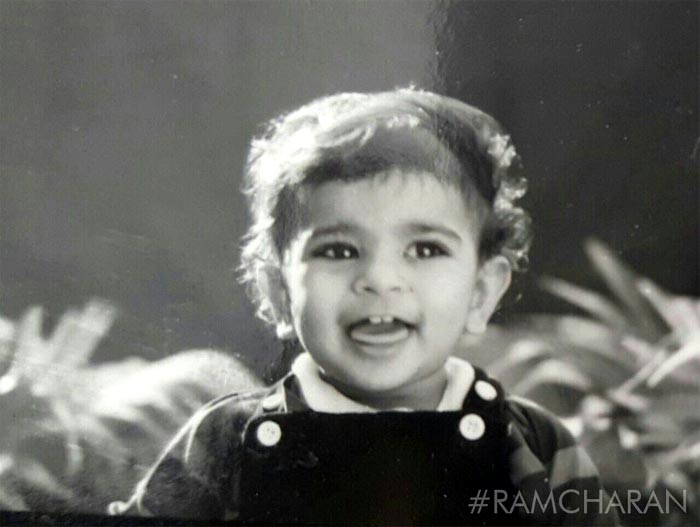 ram charan childhood photos