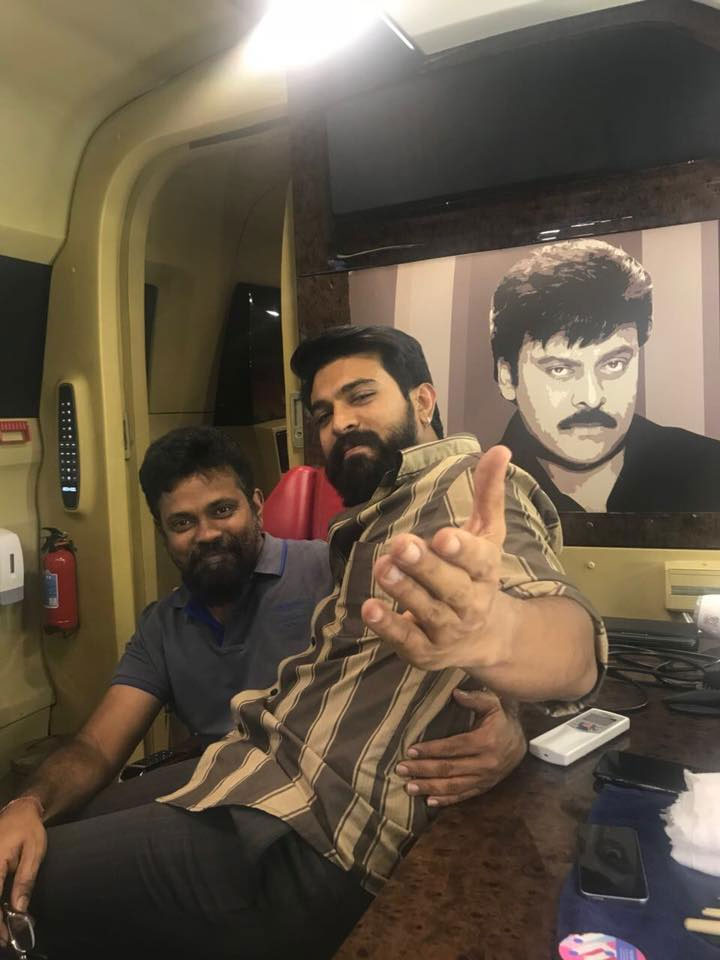 Ram Charan's Wishes to Sukumar