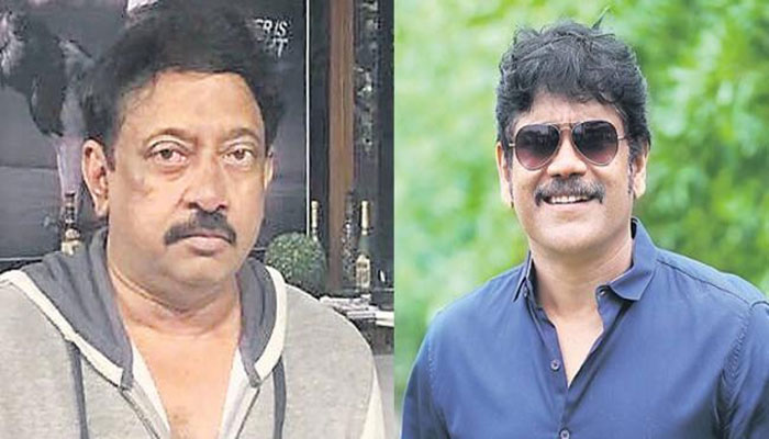 Ram Gopal Varma and Nagarjuna