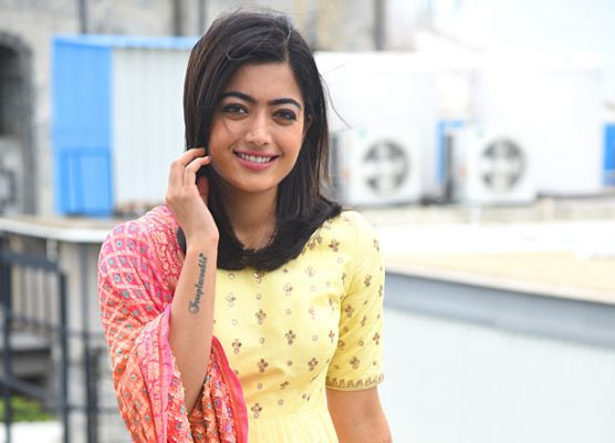 Rashmika as Telangana Cricketer Lilly in Dear Comrade