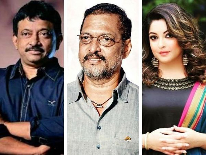 RGV ,Nana Patekar And Tanushree Dutta