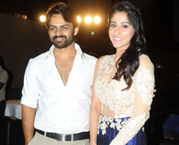 sai dharam tej and regina relationship
