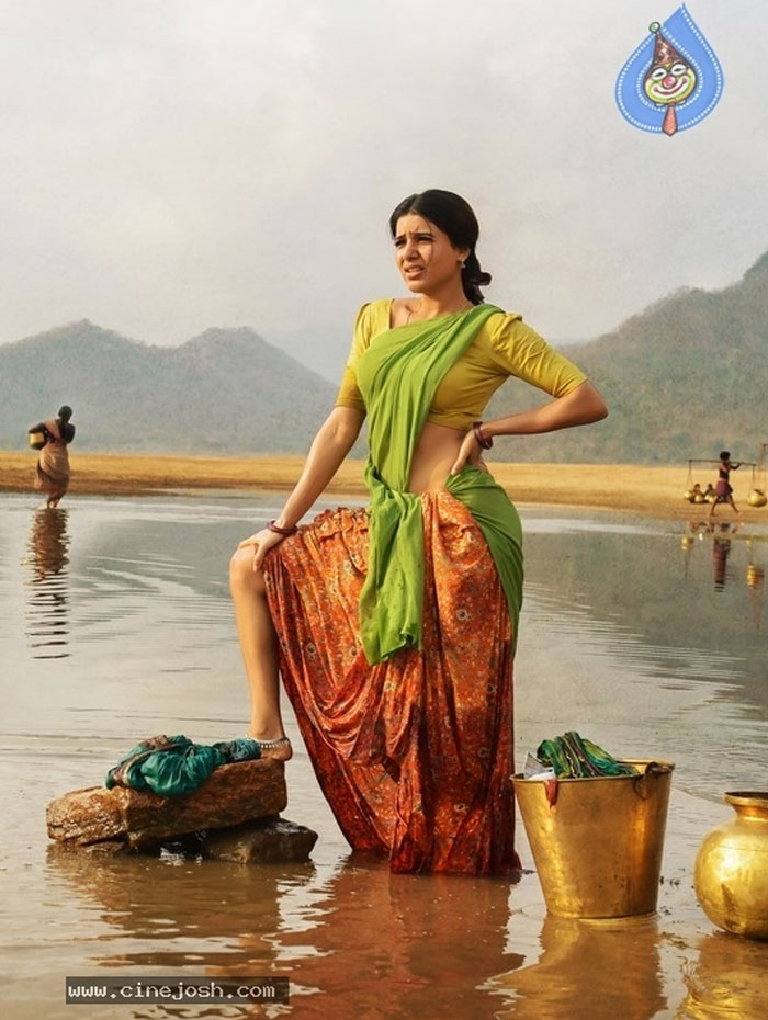 Samantha's Delight with Rangasthalam Teaser