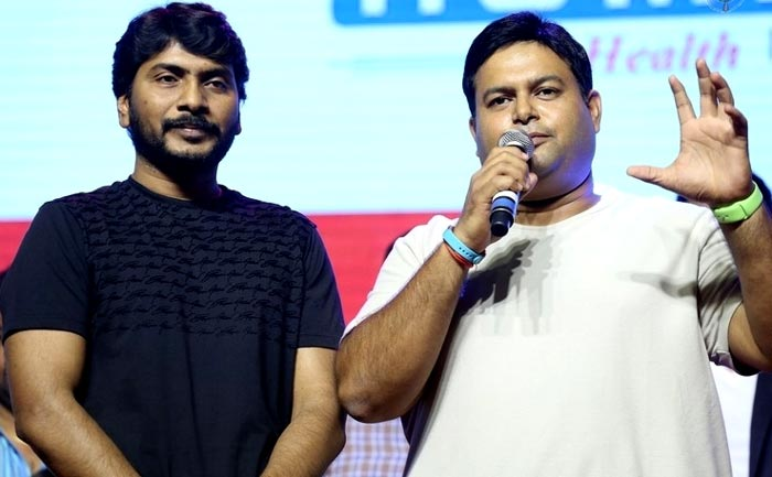 Sampath Nandi, SS Thaman on Goutham Nanda Audio Stage