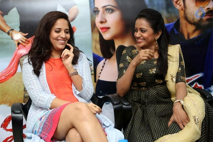 Suma, Anasuya Accelerate Winner Promotions
