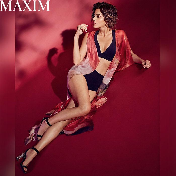 Tapsee On Maxim