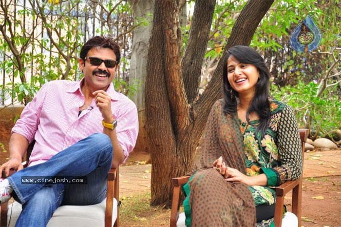 Venkatesh and Anushka
