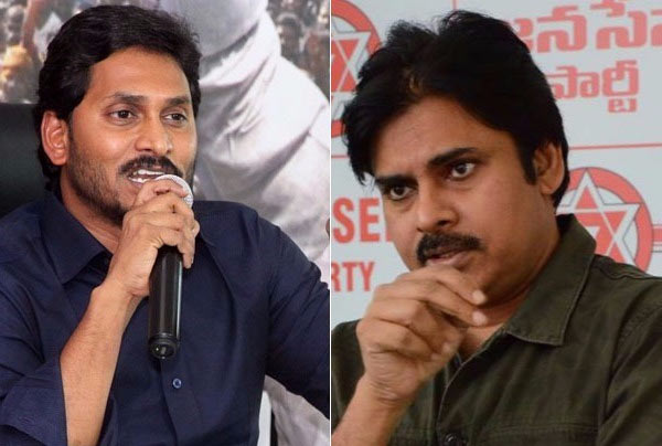 Jagan said that Pawan is acting in Chandrababu Naidu