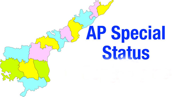 andhra pradesh,scs,special category status,tdp,ysrcp,congress,bjp,janasena,pawan kalyan,chandrababu naidu,central government  స్పెషల్: ప్రత్యేక హోదాపై పార్టీల నాటకాలు!