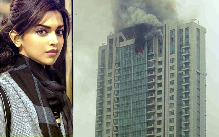 deepika padukune,fire accident,deepika padukune house,bollywood heroine  నేను సురక్షితంగా వున్నా: దీపికా పదుకునే!