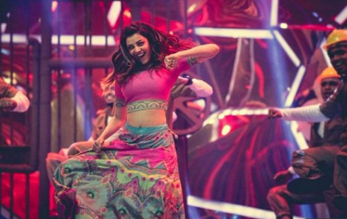 kajal agarwal,dance performance,vijay awards  కాజల్ అక్కడ దుమ్మురేపింది..!