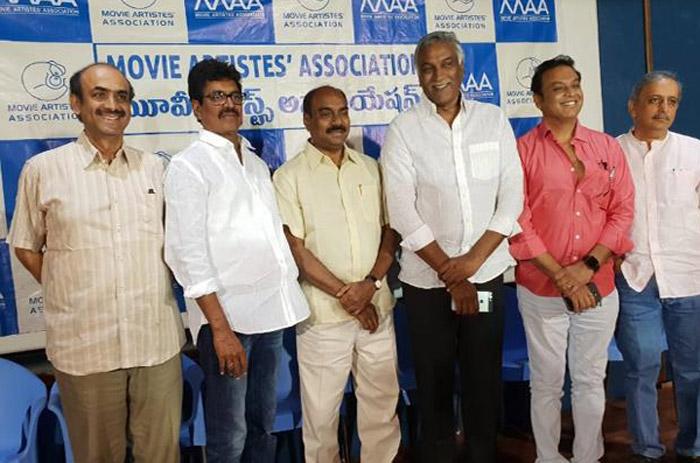 maa,press meet,recent allegations,solved,movie artist association  'మా' తీరు టీకప్పులో తుఫాన్లా ఉంది