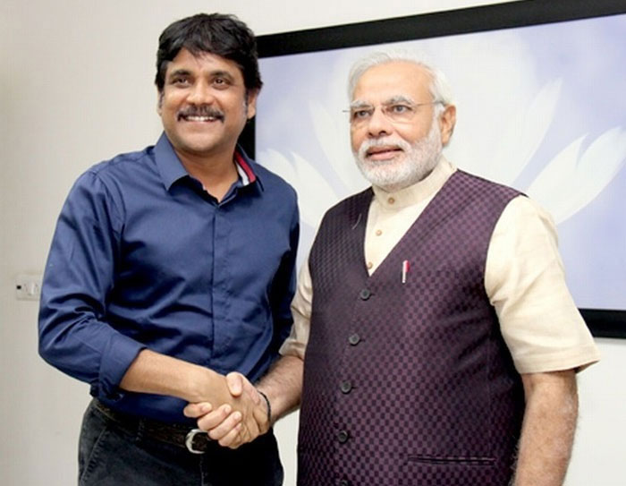 nagarjuna,no respect,pm modi,vote  మోదీ మాటను లెక్కచేయని నాగ్!