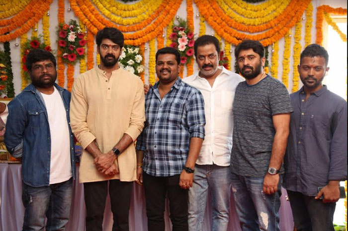 naveen chandra,venu madikonda,new movie,launch,details  నవీన్ చంద్ర కొత్త సినిమాకు క్లాప్ కొట్టారు