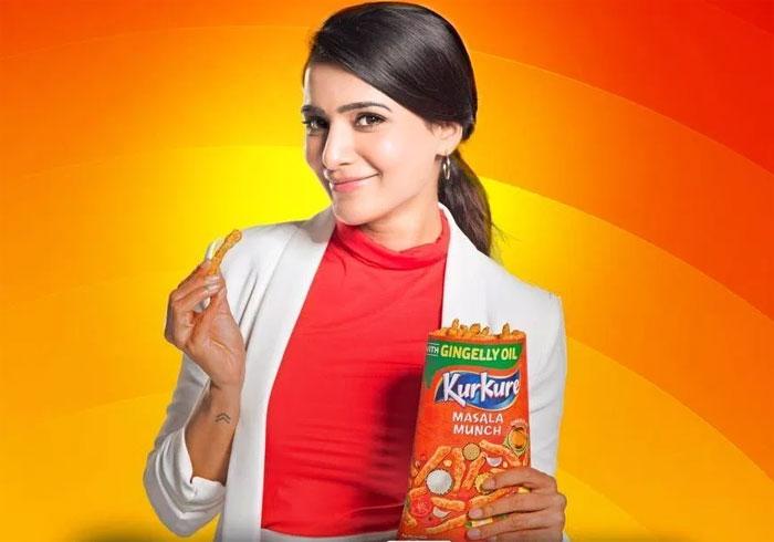 samantha,brand ambassador,kurkure,netizens fires  సమంతపై మళ్లీ వేసుకున్నారు..!