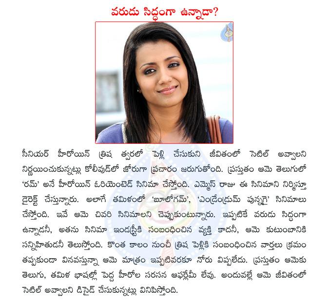 Tags: trisha, actress trisha, rum telugu movie, ms raju, trisha ...