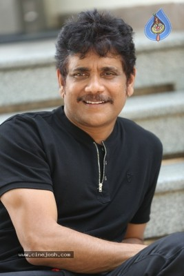 Akkineni Nagarjuna Interview Pics