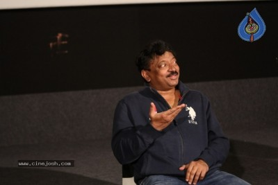 Ram Gopal Varma Interview Photos