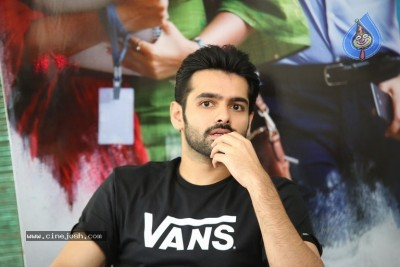 Ram Pothineni Interview Stills