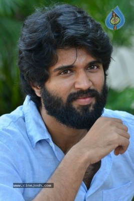 Vijay Devarakonda Interview Photos