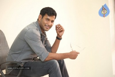 Vishal Interview Photos