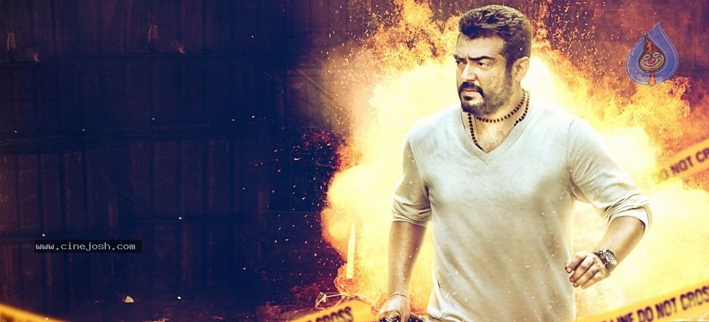 Ajith Stills in Yennai Arindhaal Tamil Movie | Photos Gallery