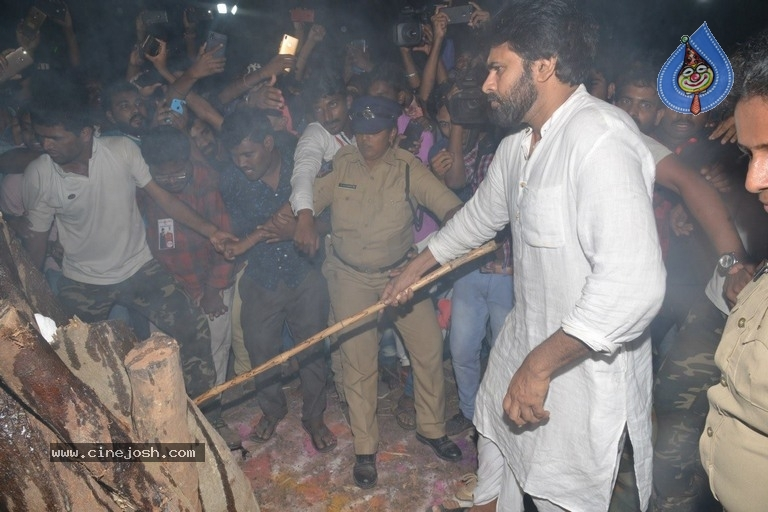 Pawan Kalyan Celebrates Sankranthi In Tenali - 20 / 39 photos