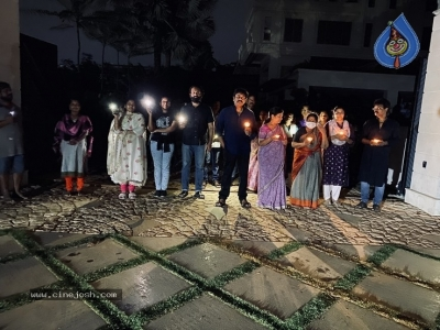 Chiru Family With Candles - 3 of 6