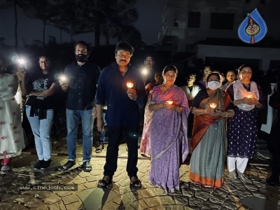 Chiru Family With Candles - 4 of 6