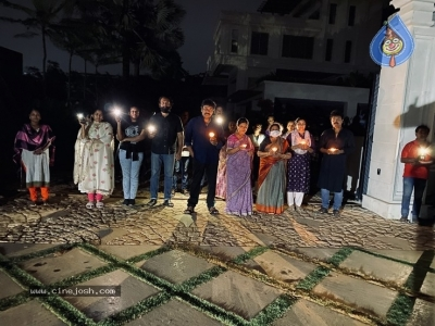 Chiru Family With Candles - 6 of 6