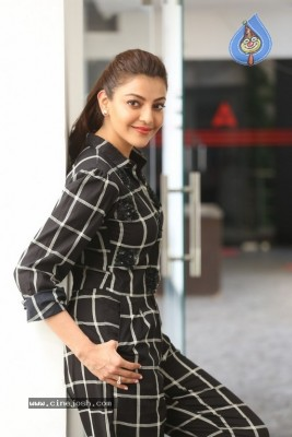 Kajal Aggarwal Interview Photos