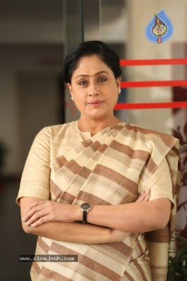 Vijayashanti Interview Photos