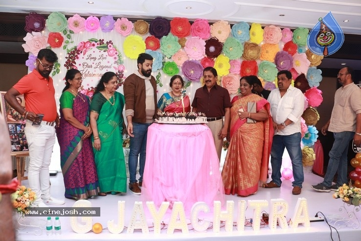 Actress Jayachitra Birthday Celebration Stills - 1 / 9 photos