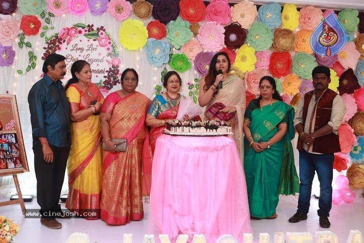 Actress Jayachitra Birthday Celebration Stills - 2 / 9 photos