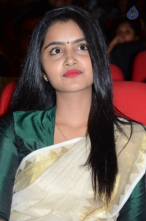 Anupama Parameshwaran at A Aa Audio Launch - 19 / 35 photos
