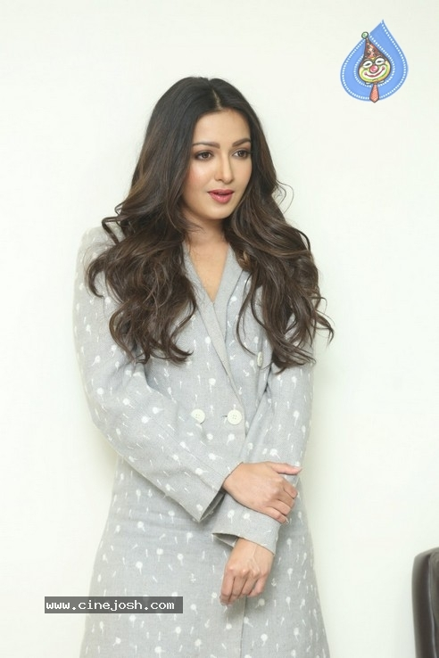 Catherine Tresa Interview Pics - 19 / 19 photos