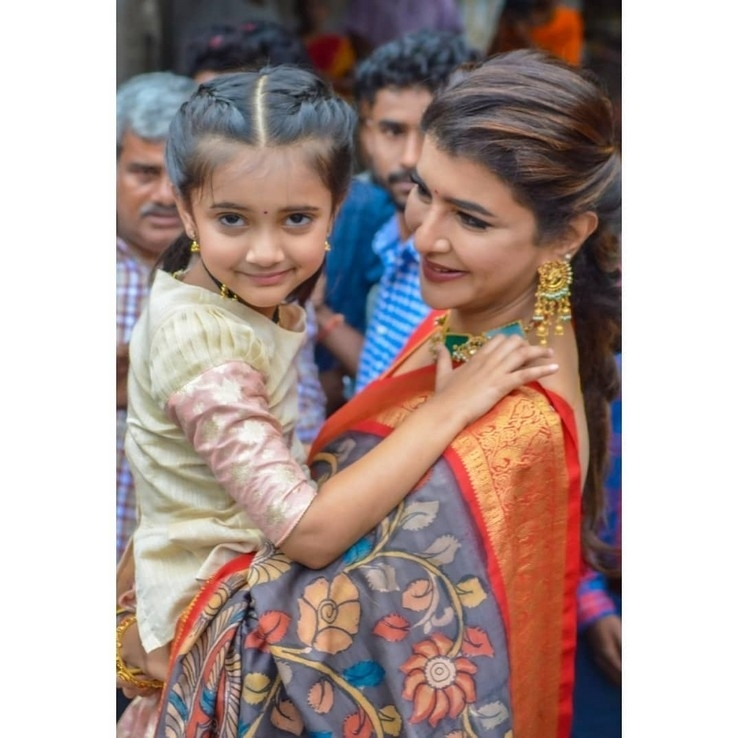 Lakshmi Manchu With Her Daughter - 1 of 3